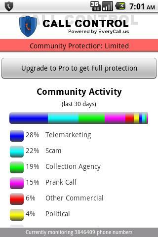 Call Control - Call Blocker - Imagem 2 do software