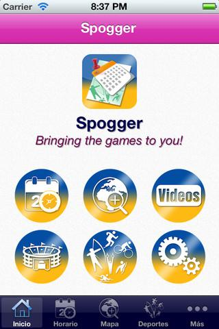 London 2012 Spogger Free - Imagem 1 do software