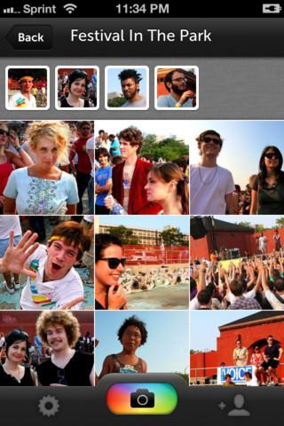 PhotoCircle - Imagem 2 do software