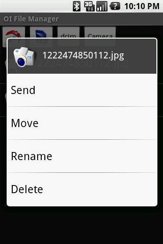 OI File Manager - Imagem 2 do software