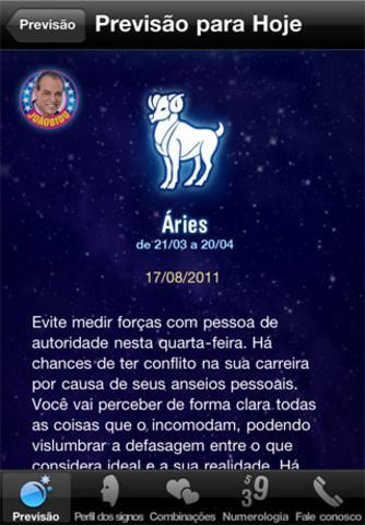 Horóscopo JoãoBidu 2012 - Imagem 2 do software
