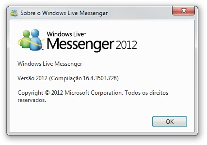 o novo msn 2012 baixaki