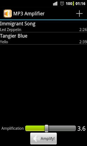 MP3 Amplifier - Imagem 1 do software