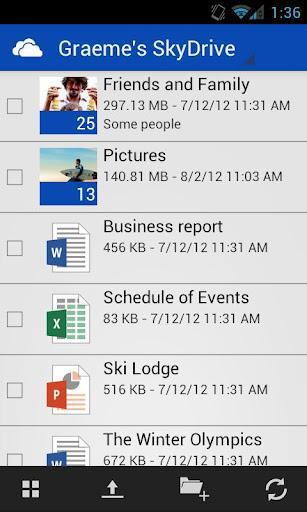 OneDrive - Imagem 1 do software