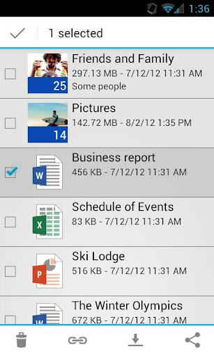 OneDrive - Imagem 2 do software