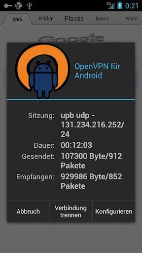 OpenVPN for Android - Imagem 1 do software
