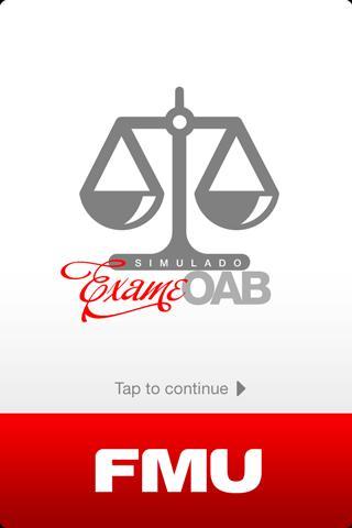 FMU OAB - Imagem 2 do software