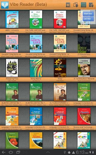 Vibe ebook Reader - Imagem 1 do software