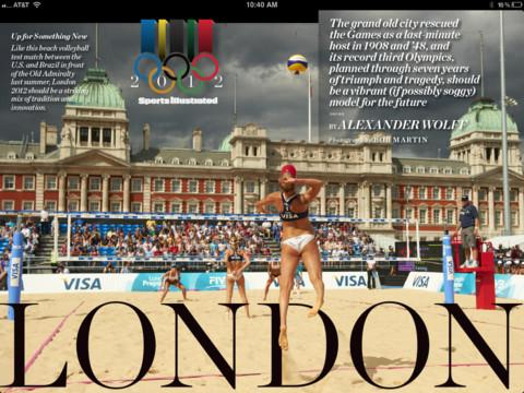 Sports Illustrated Live from London 2012 - Imagem 1 do software