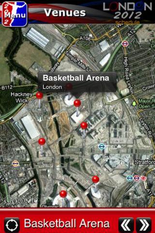 London 2012 schedule - Imagem 2 do software