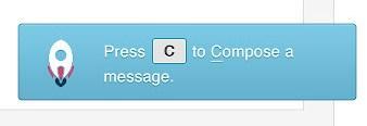 Um exemplo de notificação
