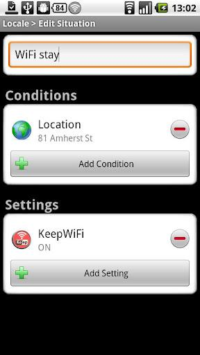 KeepWiFi Locale - Imagem 2 do software
