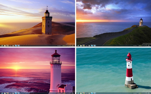 Lighthouses Theme.