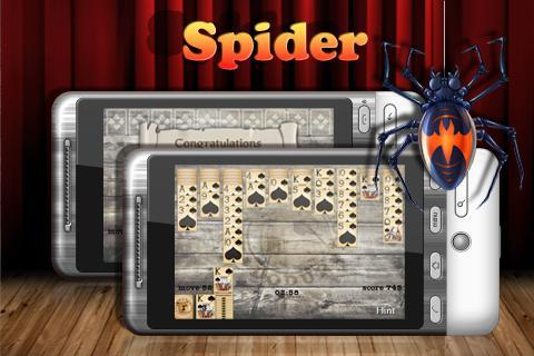 Spider Solitaire Free - Imagem 1 do software