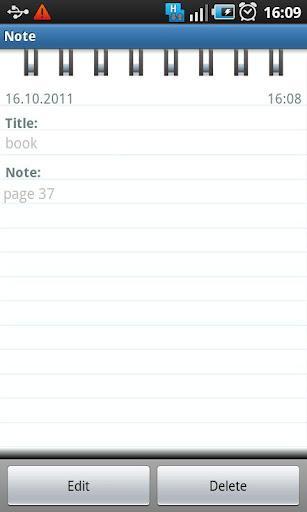 Meu Diário - Imagem 2 do software