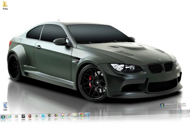 BMW M3 Windows 7 Theme.