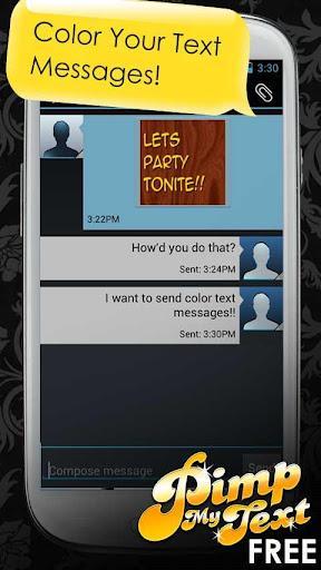 Pimp My Text - Color Text - Imagem 1 do software