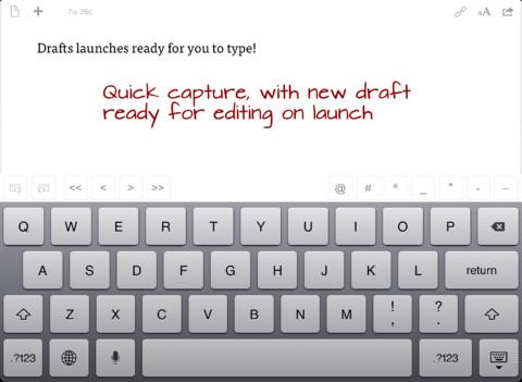 Drafts for iPad - Imagem 2 do software
