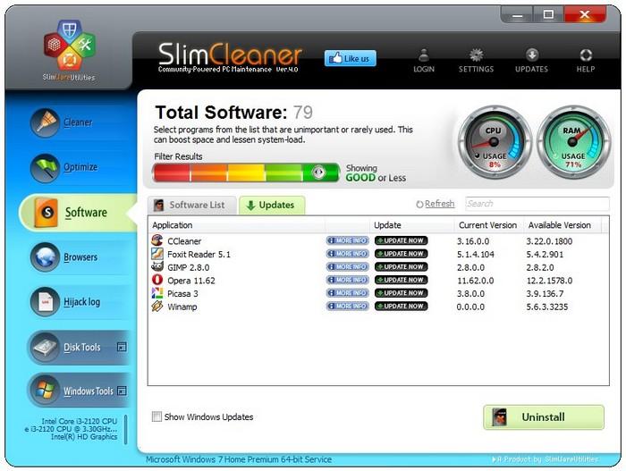 SlimCleaner.