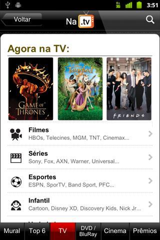 NaTV - Guia de TV e Cinemas - Imagem 1 do software