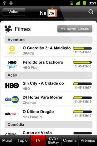 NaTV - Guia de TV e Cinemas - Imagem 2 do software