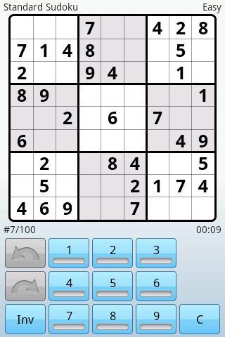 Super Sudoku by Kiwi Mobile - Imagem 2 do software
