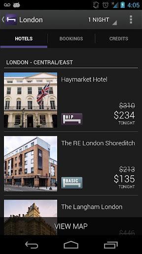 Hotel Tonight - Imagem 4 do software