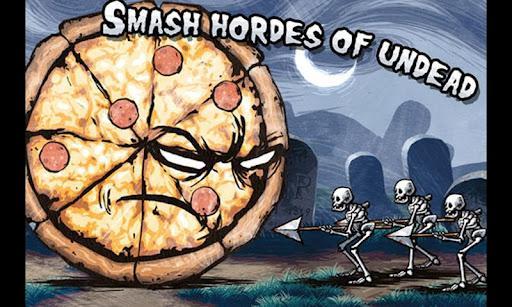 Pizza vs. Esqueletos - Imagem 1 do software