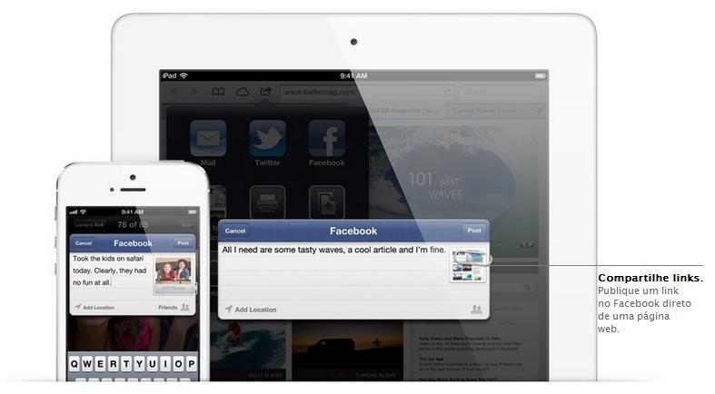 iOS 6 para iPhone 4S - Imagem 2 do software