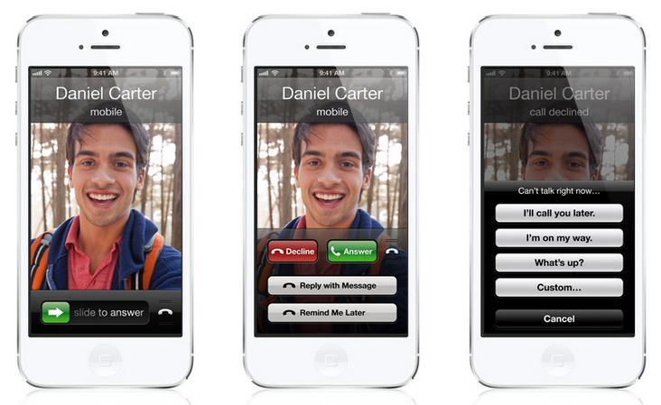 iOS 6 para iPhone 4S - Imagem 6 do software