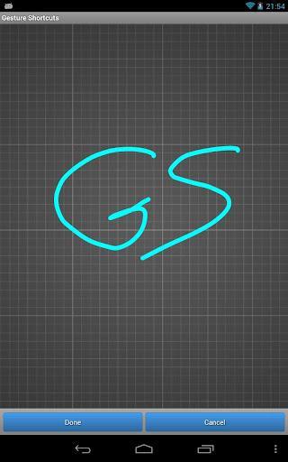 Gesture Shortcuts Launcher - Imagem 2 do software