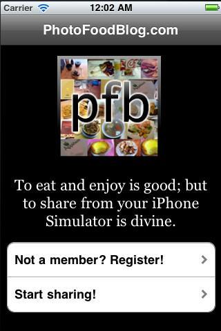 photofoodblog - Imagem 1 do software