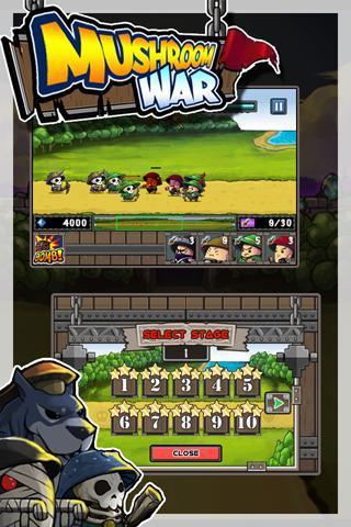 Mushroom War - Imagem 2 do software