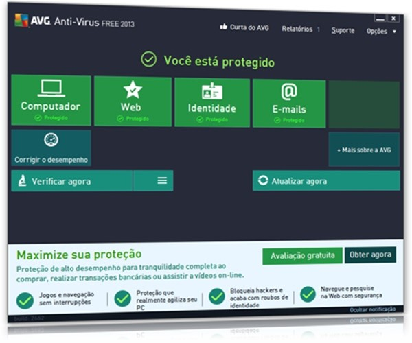 AVG Anti-Virus Free 2013.
