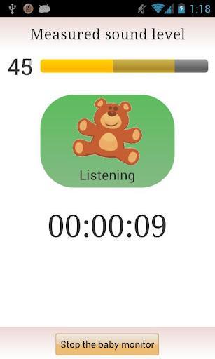 MVA Baby Monitor - Imagem 2 do software