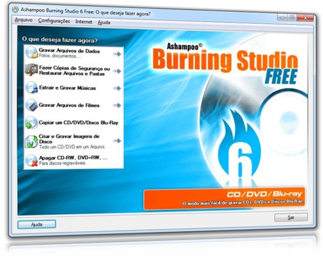 Ashampoo Burning Studio 6 Free,