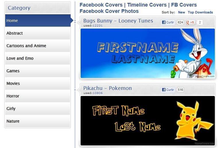 Name Covers.