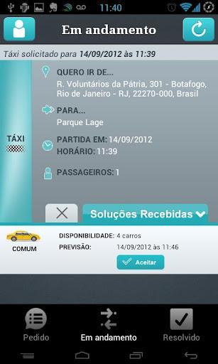 ResolveAÍ Táxi - Imagem 2 do software