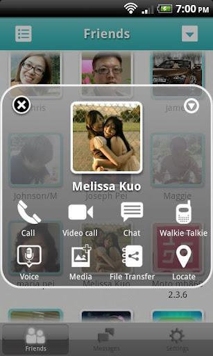 AireTalk : Free Call - Imagem 1 do software