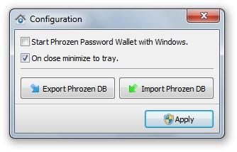 Password wallet