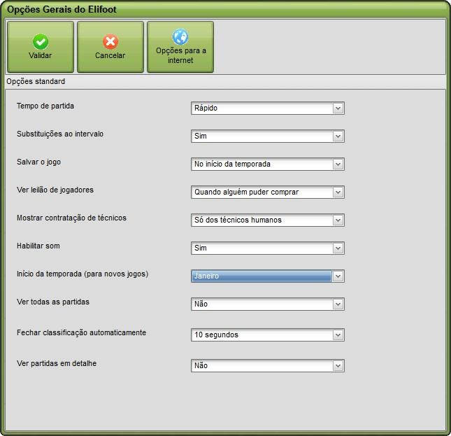elifoot 2012 registrado baixaki