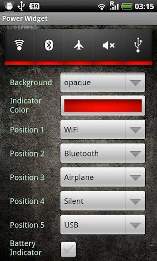 Power Widget Lite - Imagem 4 do software