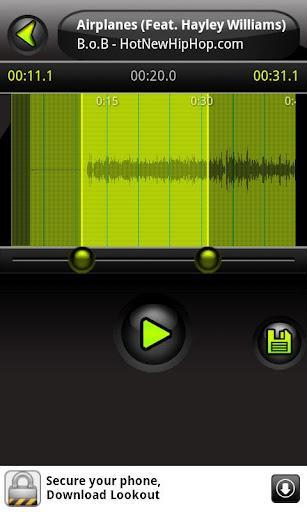 FREE - My Ringtone Maker - Imagem 2 do software