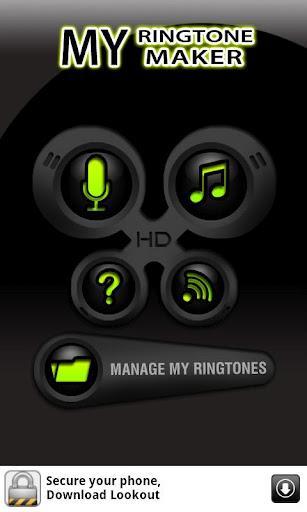 FREE - My Ringtone Maker - Imagem 1 do software