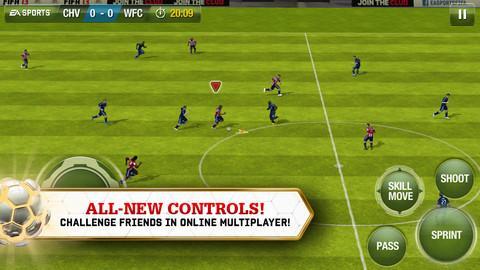 FIFA SOCCER 13 by EA SPORTS para iPhone - Imagem 2 do software