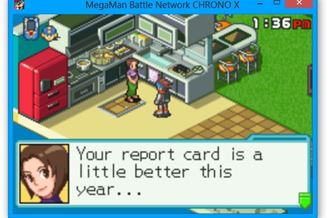 megaman battle network chrono x android
