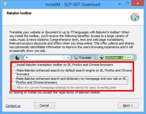 SCP-087 - Imagem 3 do software