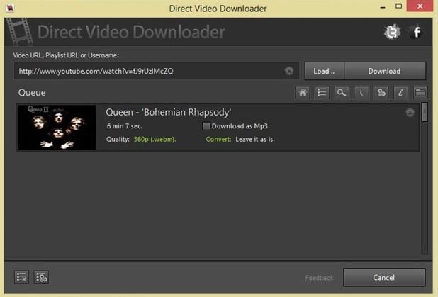 Direct Video Downloader.