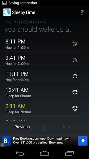 SleepyTime: Bedtime Calculator - Imagem 2 do software