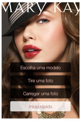 Maquiagem Virtual Mary Kay® - Imagem 1 do software